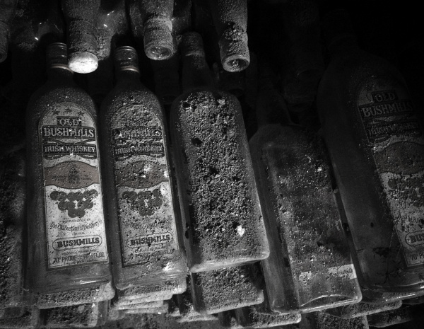Old Whiskey Bottles